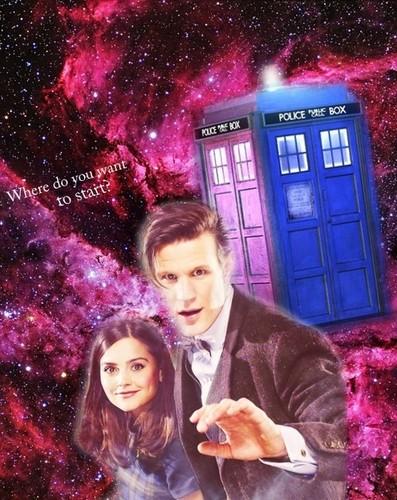Eleven/Clara Fanart!