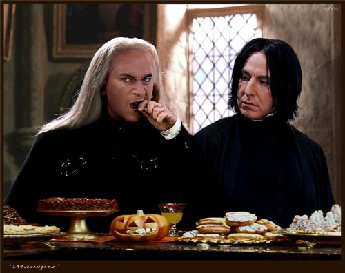 Embarrassing 照片 of Snape & Lucius