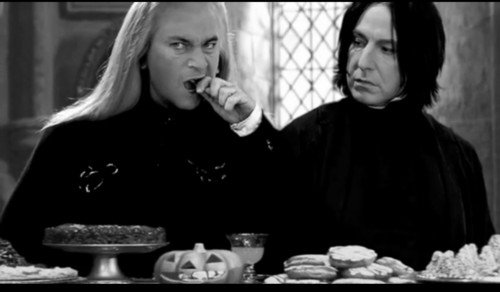 Embarrassing 사진 of Snape & Lucius