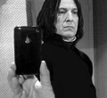Embarrassing Photos of Snape &amp; Lucius - snapes-family-and-friends photo