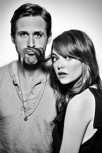 Emma Stone and Ryan Gosling- Stupid Crazy Love photoshoot 2012