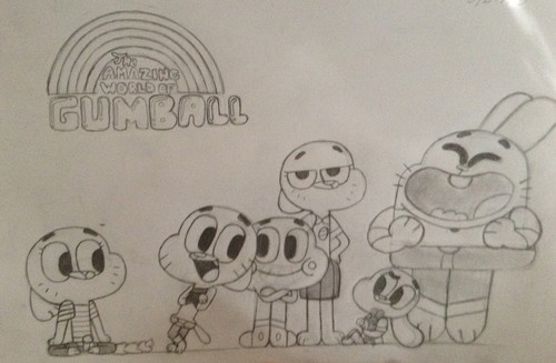 The Amazing World of Gumball achtergrond entitled Emma and The Wattersons