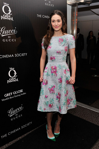 """Emmy @ Screening of """"Oz: The Great and Powerful"""" in NYC"""