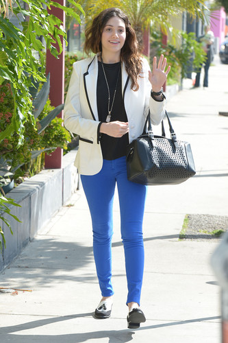 Emmy out in West Hollywood