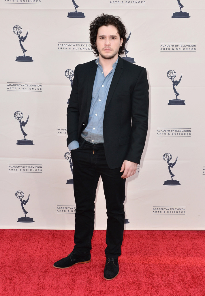 Emmys' Game of Thrones panel- Kit Harington