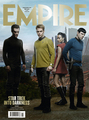Empire Magazine cover  - spock-and-uhura photo