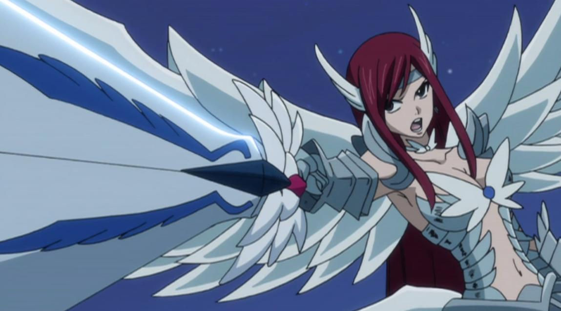 Erza Heaven Wheel Armor