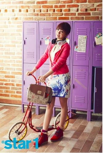 EunJi in star1 magazine <3