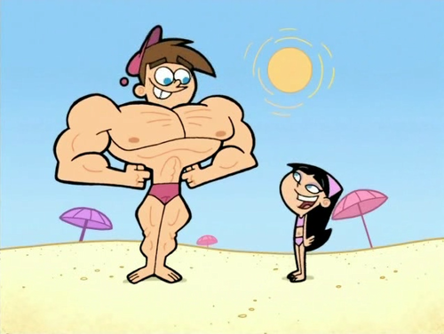 Fairly Odd Parents Timmy and Trixie