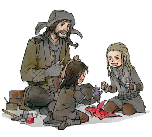 Fili,Kili and Bofur