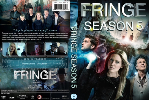 Fringe wallpaper probably containing anime called Fringe Season 5 DVD cover