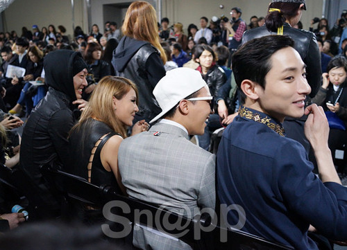 G-DRAGON at Seoul Fashion Week (March 28th, 2013)