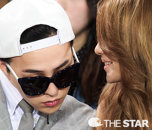 G-DRAGON at Seoul Fashion Week (March 28th, 2013)