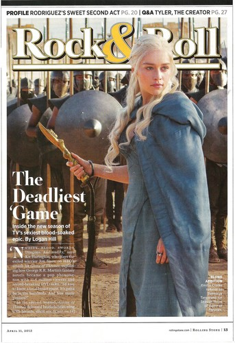 Game of Thrones - Rolling Stone Magazine