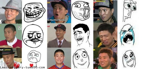 Gary expression Cr. @RunningManCast