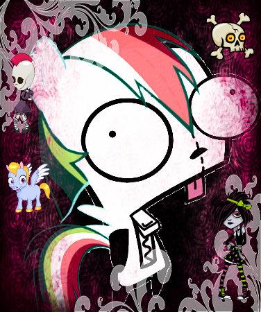 "Goth arcobaleno GIR "" HotDogs"""