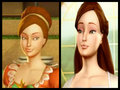 Hairstyles of Edeline - barbie-in-the-12-dancing-princesses fan art