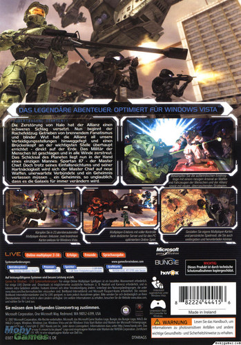 Halo 2 (PC cover)