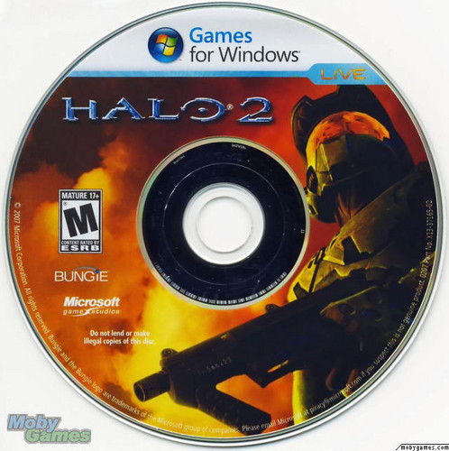 Halo 2 (PC disc)