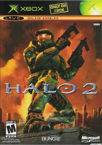 Halo 2 (Xbox cover)