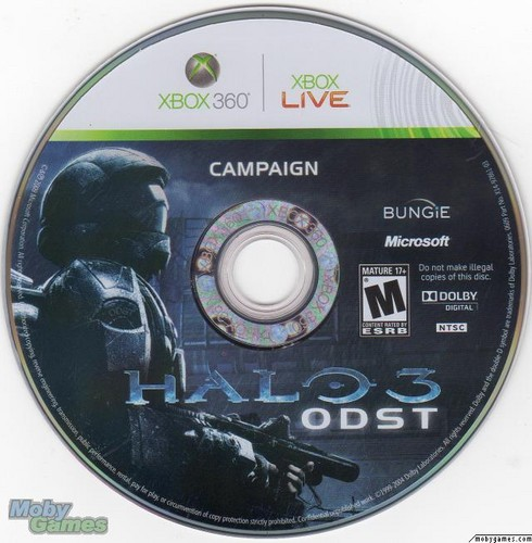 Halo 3: ODST disc