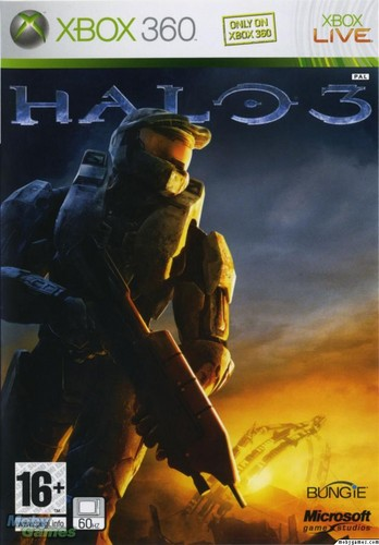 Halo wallpaper containing animê titled Halo 3 cover