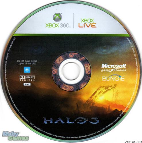 Halo 3 disc