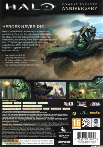 Halo: CE Anniversary cover