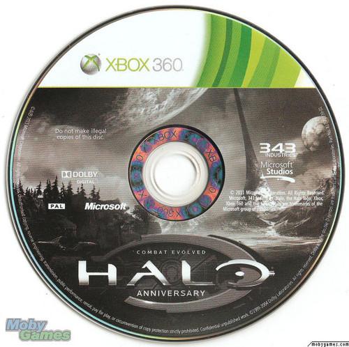 Halo: CE Anniversary disc