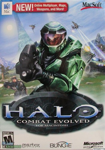 Halo: Combat Evolved (Mac cover)