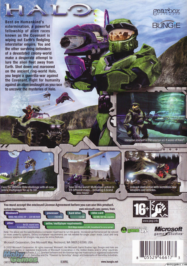 Halo: Combat Evolved (PC cover)