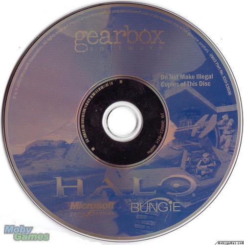 Halo: Combat Evolved (PC disc)