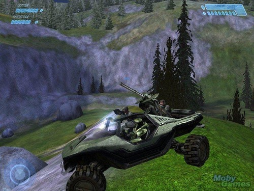 Halo wallpaper entitled Halo: Combat Evolved (PC version)