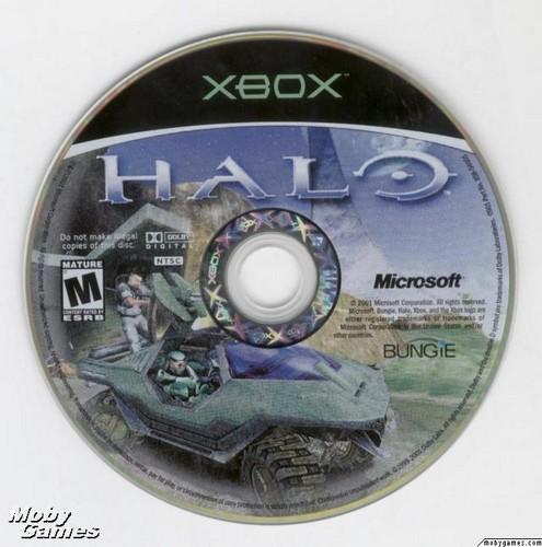 Halo: Combat Evolved (Xbox disc)