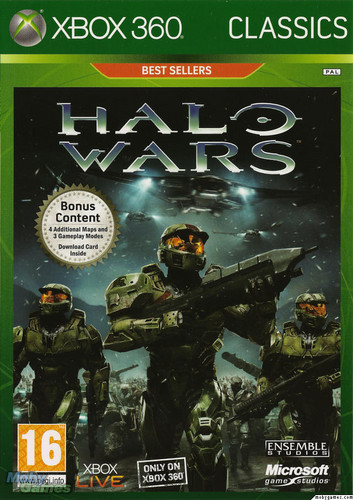 Halo Wars cover