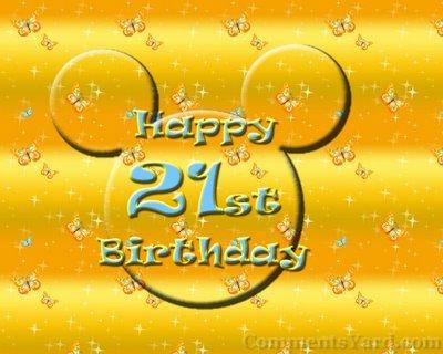 Happy 21st Birthday Jezzi! ♥