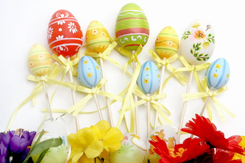 Happy Easter All My 팬 바탕화면 possibly with a bouquet called Happy Easter All My 팬