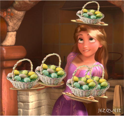 Happy Easter xoxo Rapunzel