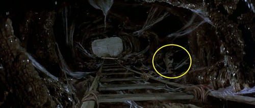 Labyrinth 壁紙 possibly with a 通り, ストリート and a sign called Hidden Face in the Oubliette?
