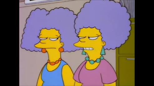 Homer vs. Patti and Selma