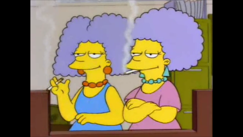 Homer vs. Patti and Selma