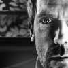 Dr. Gregory House photo probably with a portrait entitled House