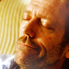 Dr. Gregory House photo containing a snap brim hat, a campaign hat, and a boater called House