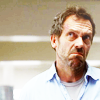 Dr. Gregory House photo with a portrait called House