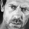 Dr. Gregory House photo possibly with a portrait entitled House