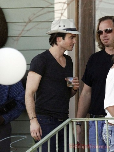 Ian Somerhalder at Century Hall baía St. Louis - 25/03