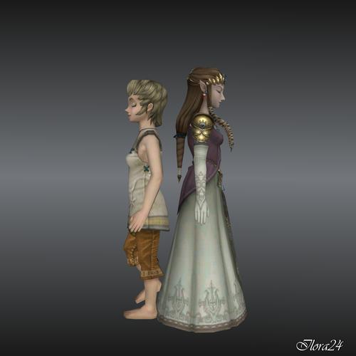 Ilia and Zelda.