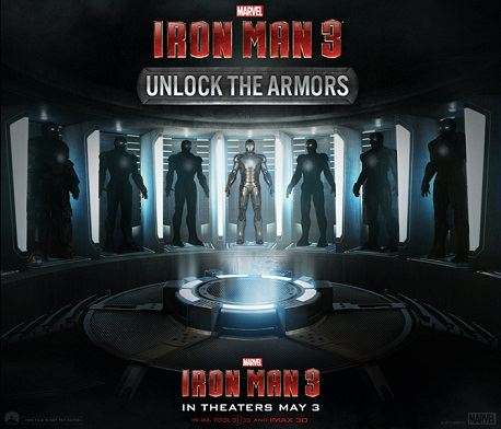 Iron Man 3 Unlock the Armors