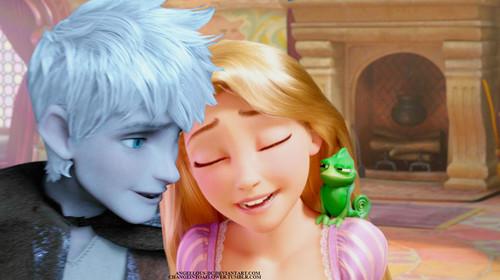 Jack Frost/Rapunzel
