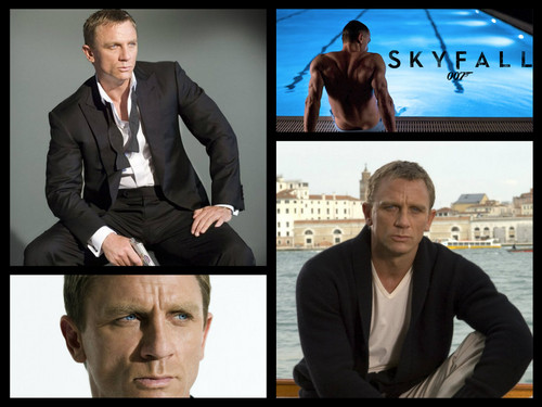 James Bond kertas dinding with a business suit, a suit, and a well dressed person called James Bond Collage